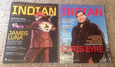 National Museum Of The American Indian Magazine Lot (2) 2005 Fall Summer • New!