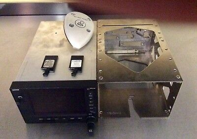 Garmin GPS-500W package w/ WAAS antenna, mounting tray + more.ADS-B compatible.