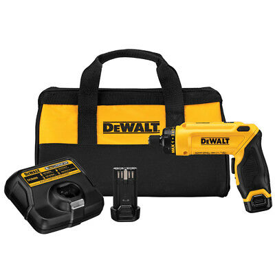 DEWALT DCF680N2R 8V 8 Volt Max Cordless Gyroscopic Screwdriver 2 Battery Kit