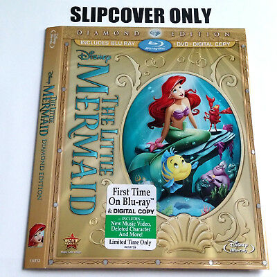The Little Mermaid Blu-ray Diamond Edition (SLIPCOVER ONLY)