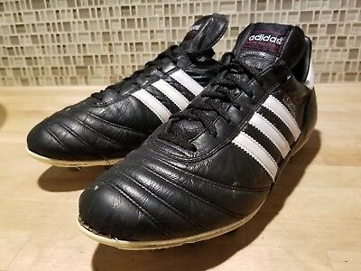 baf0f20d01f Adidas Mens Copa Mundial Soccer Cleats Shoes Made in Germany Black Leather  10.5