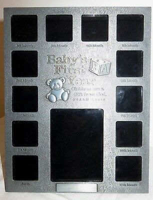 Baby's First Year Pewter Picture Frame Lighthouse Christian Products