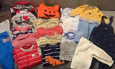 Lot of 26 Boy Clothes 9-12 Month