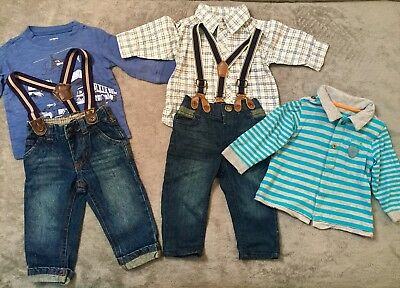 Lot of 5 Cute Boys Clothes 3-6 Month