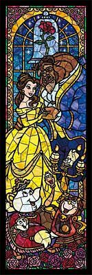 Beauty and the Beast Stained Glass Kit 5D Diy Diamond Painting