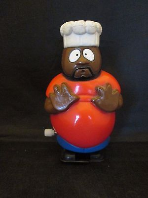 "1997 South Park Comedy Central Chef Wind Up 4"" Tall"