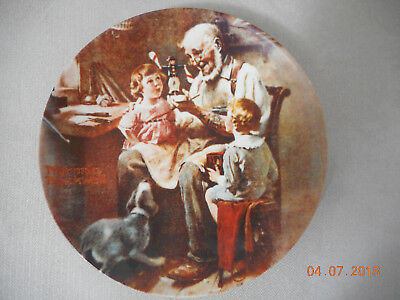 Norman Rockwell - HERITAGE - Limited edition, permanently closed 1980 -9 plates