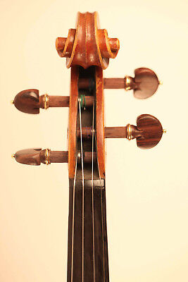 old violin labeled Postiglione 1901 violon geige cello viola 小提琴 ヴァイオリン italian