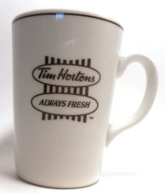 Tim Hortons ALWAYS FRESH Coffee Cup Mug English French Steelite Made in England