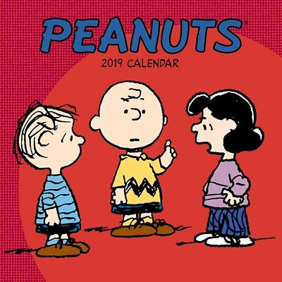 Peanuts - 2019 Wall Calendar - Brand New - Snoopy Humor Funny 492380
