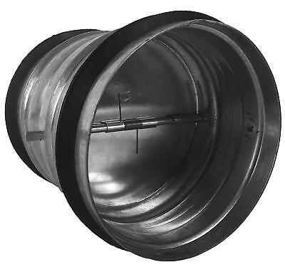 Backdraft Damper With Galvanized Steel Collar And Lightweight Aluminum Blades 4