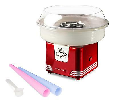 Best Retro Hard Fluffy Cotton Candy Maker Clear Rim Vintage Electric Machine
