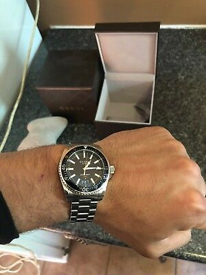 4a55abef1ff MENS GUCCI DIVE Watch in superb condition -  525.67