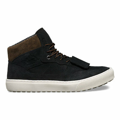 fad2aecf847 Vans Mountain Edition Waxed Suede Black Men  s 13 Skate Shoes Hiking New  Boots