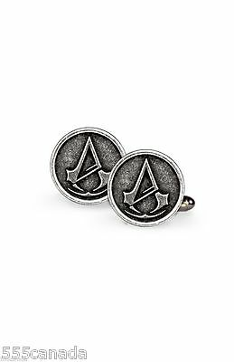 Assassins Creed Unity Metal Cufflinks - Syndicate Odyssey Rogue Origins 2W