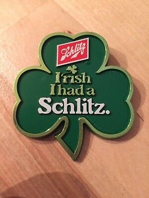 Schlitz beer pin button pinback