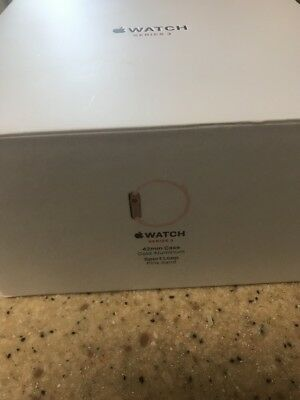 Apple Watch Series 3 42mm BOX ONLY. 2 BOXES AUCTION.