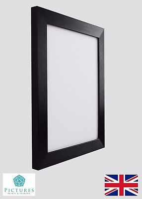"""Black Photo Picture Poster Panoramic 28mm Frame 13x13-24x36"""" A1 A2 35x35-60x90cm"""