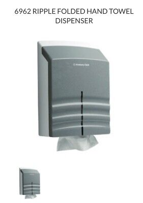 Kimberly Clark Professional Ripple Folded Hand Towel Dispenser 6962 NEW
