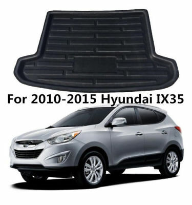 Rear Trunk Boot Liner Cargo Mat Floor Tray Pad For Hyundai IX35 2010-2015