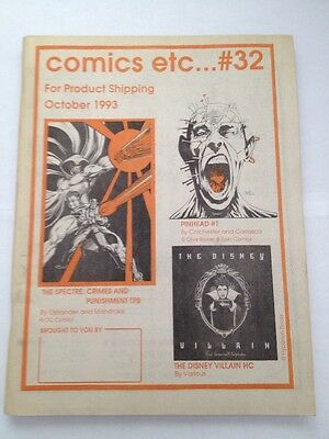 comics etc....# 32 ,1993 october for product shipping