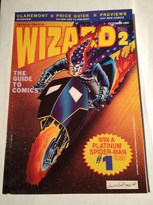 Wizard # 2 , Ghost Rider Cover