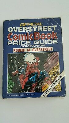 Official overstreet price guide companion  # 5 spiderman cover