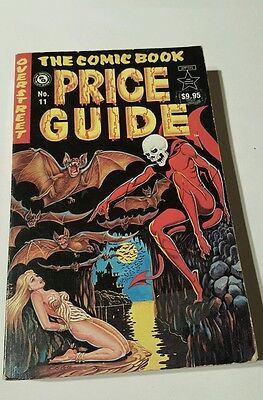 Overstreet price guide # 11  soft cover