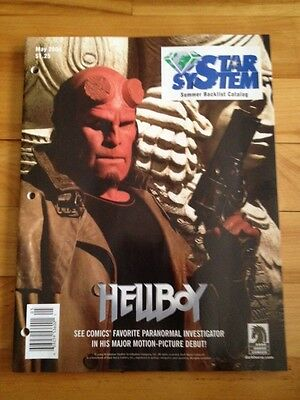 Diamond Comic Distributors  Star System Backlist Catalog 2004 , Hellboy Cover