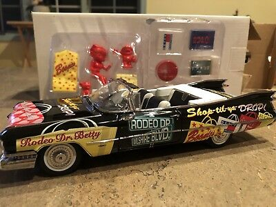 Vintage Rodeo Dr. Betty Boop 59 Cadillac 1999 Danbury Mint Extremely Rare!
