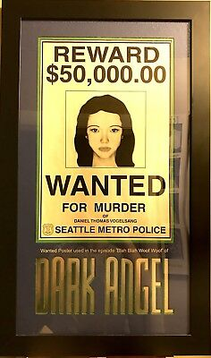 Once Upon A Time Tv Series Prop Snow White Wanted Poster Ouat0606
