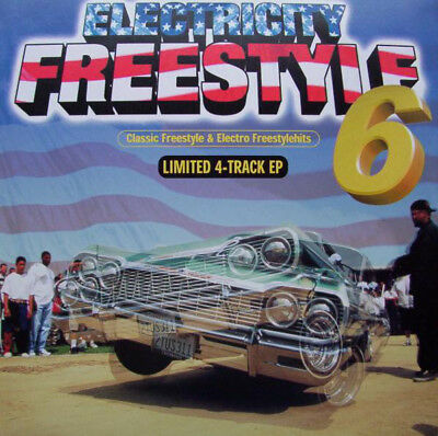 "Various - Electricity Freestyle 6 - Classic Freestyle & Electro  12"" 0715309"