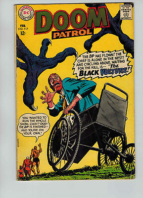 The Doom Patrol #117 (Feb 1968, DC)