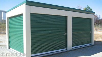 Duro STEEL JANUS 8' by 8' Econmical Commercial 1950 Series Roll-up Door DiRECT