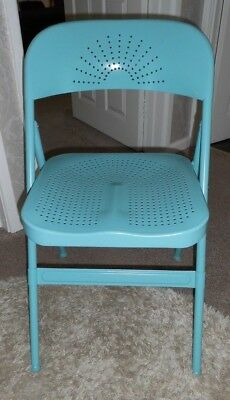 Groovy Ikea Frode Folding Metal Chair Turquoise 14 00 Lamtechconsult Wood Chair Design Ideas Lamtechconsultcom