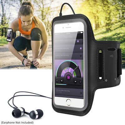 For iPhone X 8 7 6 Plus Sports Armband Gym Running Jogging Case Cover Holder Bag