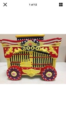 2000, 2001 & 2002 IGA Circus Daze Special Edition Cookie Jar - New in Box