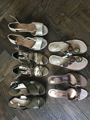 Bundle / Joblot of Summer Shoes Size 4-5 Clarks DP JFW (some hardly used)