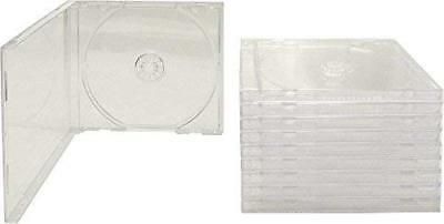 AcePlus CD Jewel Case Clear Single Assembled 25 pieces