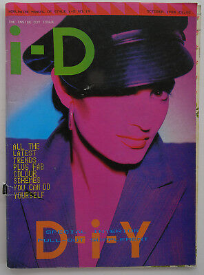 vintage 1980s iD 19 october 1984 the inside out issue anne pigalle cover