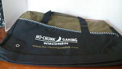 Ho-Chunk Casino Duffel Bag with all straps and handles