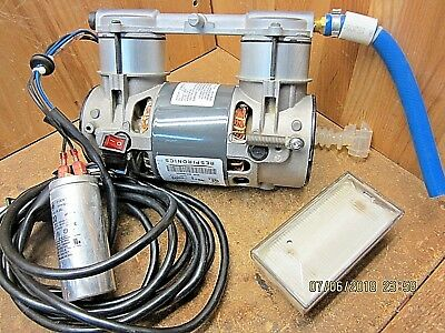 USED Compressor Pump 600423 THOMAS 2450AE44-980 A MOTOR 3.4A K37ZZSPV-0824