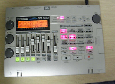 Boss BR-600 Multi Track Digital Portable Recorder with1gb compact flash card