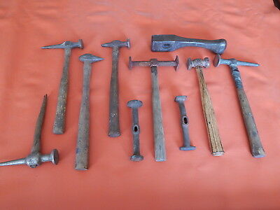 Vintage Auto Body Hammers Lot Of (10) Porter Ferguson Fairmount