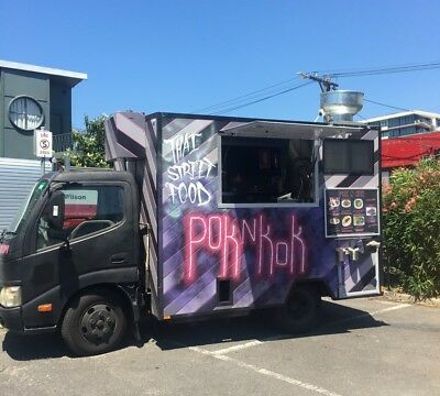 Unique Fully Refurbished Hino Food Truck For Sale - Ready to Trade