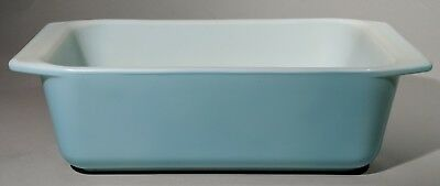 Vintage Pyrex Robins Egg Blue Aqua Turquoise Loaf Pan #913 Unused NEW Condition