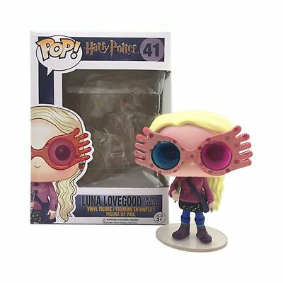 FUNKO POP #41 Harry Potter Luna Lovegood with Glasses Figure Collection Toy Gift