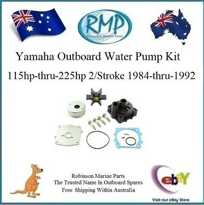 Brand New Yamaha Outboard Water Pump Kit 115hp-225hp 1984-1992 # R 6G5-W0078-00