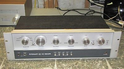 Crown IC-150 Preamplifier Nice Shape with Manual