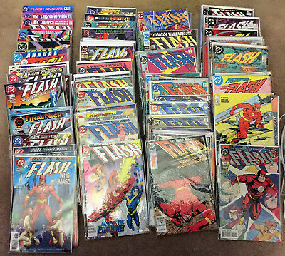 Flash (1987, 2nd Series) - DC Comics - 142 issue lot